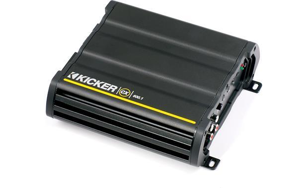kicker 12cx600 1 mono subwoofer amplifier 600 watts rms x 1 at 2 kicker 12cx600 1 front