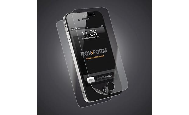 RokForm Rokgard iPhone® 4/4S Screen Protector Kit iPhone not included
