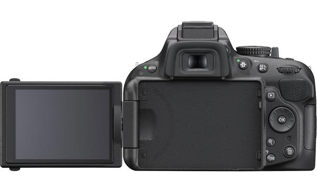 Nikon D5200 (no lens included) Vari-angle high-resolution LCD monitor