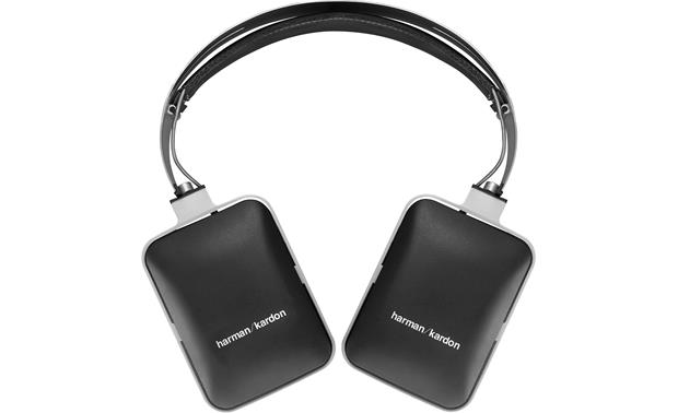 Harman Kardon BT Earcups fold flat for easy storage