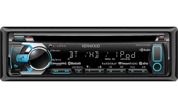 Kenwood Excelon Kdc X797 Cd Receiver At Crutchfieldcom