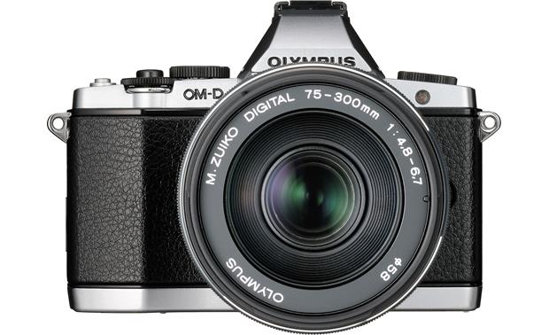 Olympus M. Zuiko Digital ED 75-300mm II f/4.8-6.7 Shown mounted on OM-D camera (not included)