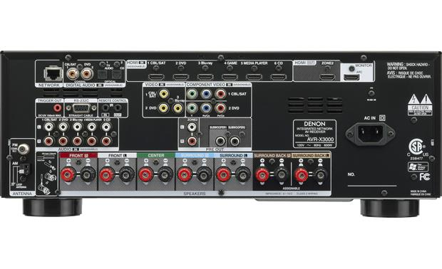Denon AVR-X3000 IN-Command <!--aa-->Back