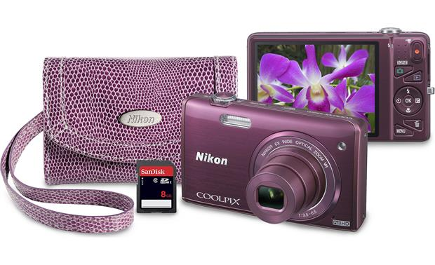 Nikon Coolpix S5200 Bundle Front (only 1 camera included in package)