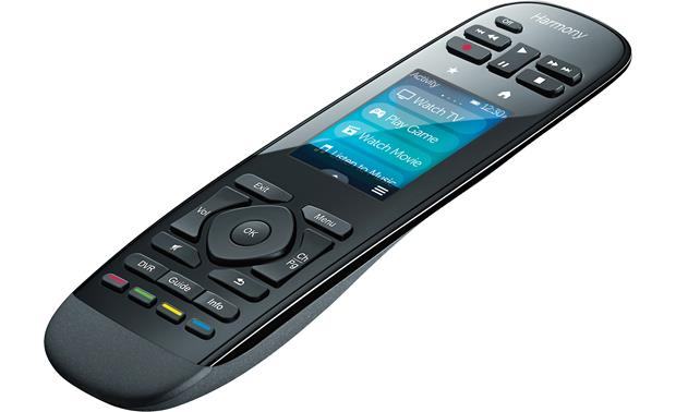 Logitech® Harmony® Ultimate Remote Remote right side view