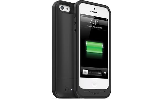 mophie juice pack air Black - back and front view (iPhone 5 not included)