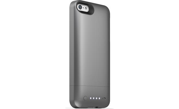 mophie juice pack helium™ Metallic black - back view