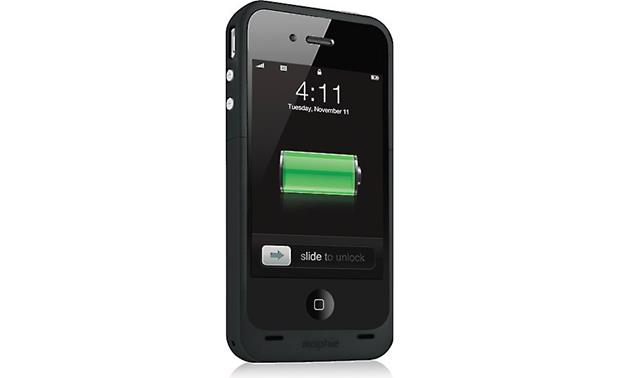 mophie juice pack plus® Black (iPhone not included)