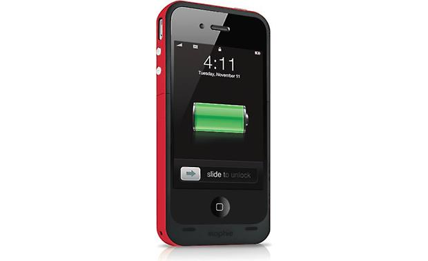 mophie juice pack plus® Red (iPhone not included)