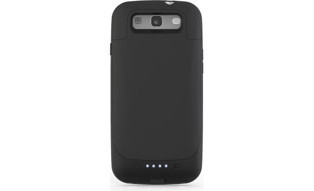 mophie juice pack® Black - back view