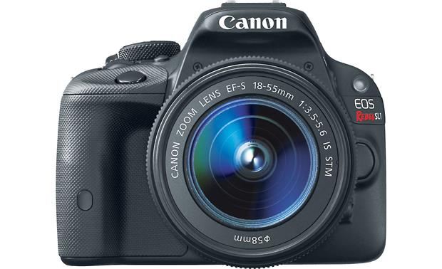 Canon EOS Rebel SL1 Kit Front, straight-on