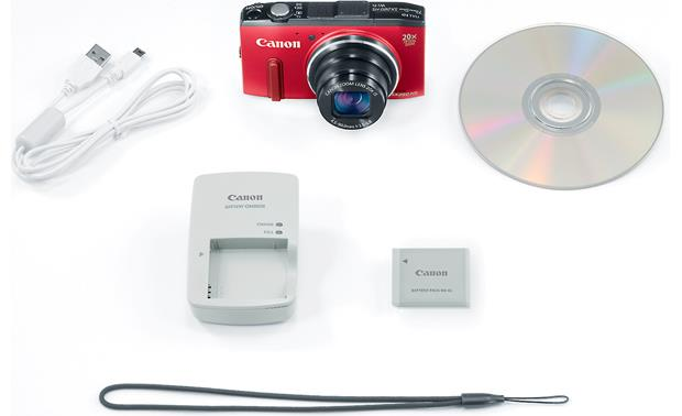 Canon PowerShot SX280 HS With included accessories