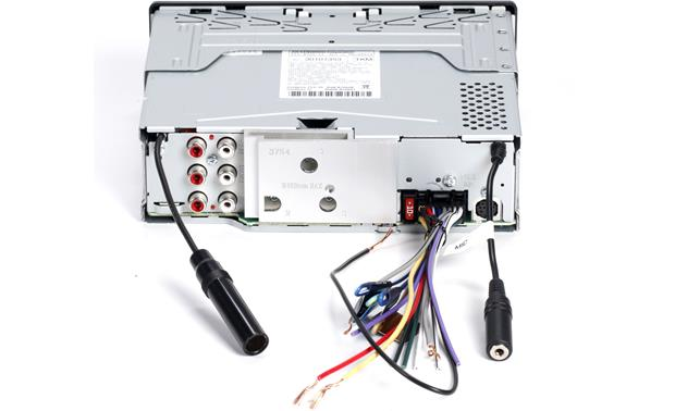 Kenwood KDC-BT755HD Back