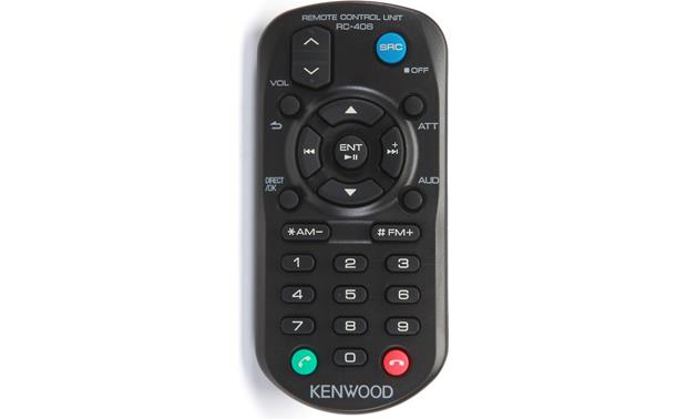 Kenwood Excelon KDC-X697 Remote