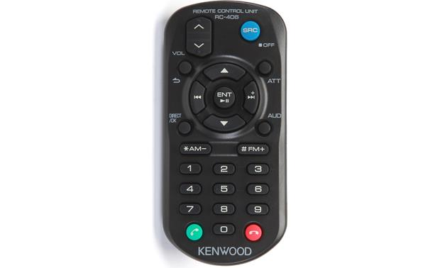 Kenwood Excelon KDC-X897 Remote
