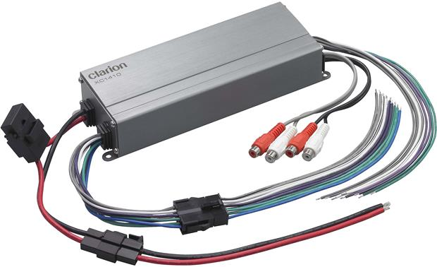 clarion xc1410 compact 4 channel amplifier 50 watts rms x 4 at clarion xc1410 clarion xc1410 amplifier