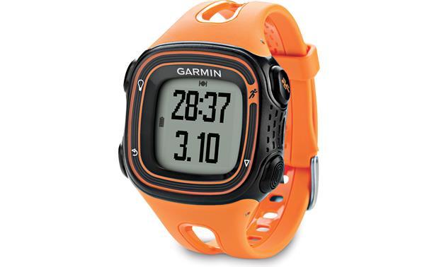 garmin forerunner 10 orange gps running watch at crutchfield com rh crutchfield com Garmin Forerunner 110 Garmin Forerunner 235