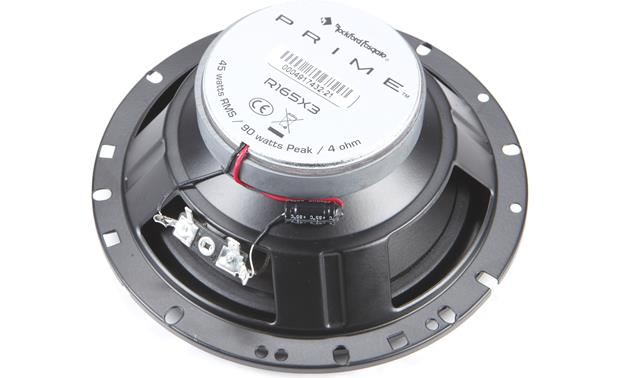 Rockford Fosgate R165X3 Back