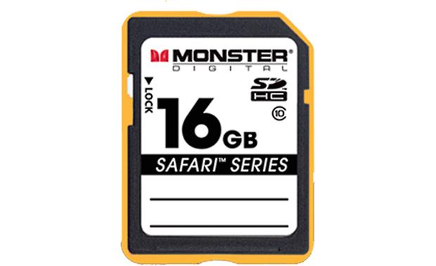 Monster Digital SDHC Memory Card Front (16GB)