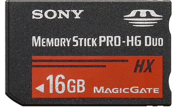 Sony Memory Stick® PRO-HG Duo HX Media Front (16GB)