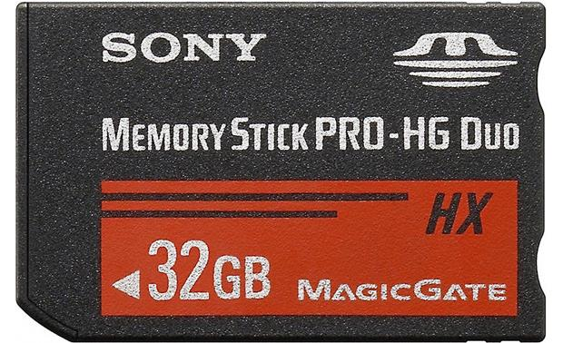 Sony Memory Stick® PRO-HG Duo HX Media Front (32GB)