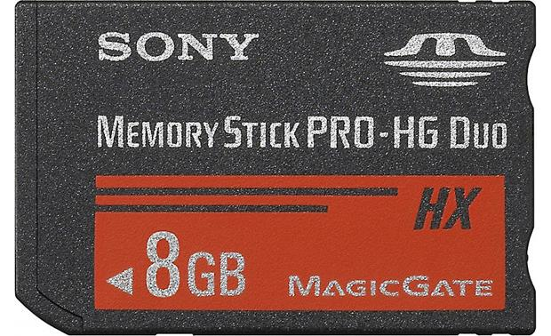 Sony Memory Stick® PRO-HG Duo HX Media Front (8GB)