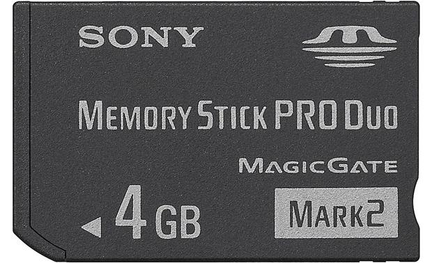 Sony Memory Stick® 4GB PRO Duo™ Mark 2 Front (4GB)