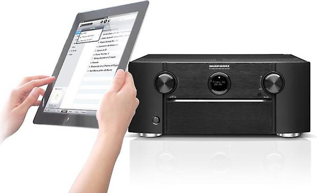 Marantz SR7008 Play music from your iPad with AirPlay (iPad not included)