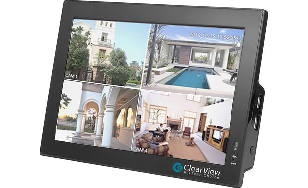 ClearView CBT-04 LCD Touchscreen DVR Combo Front