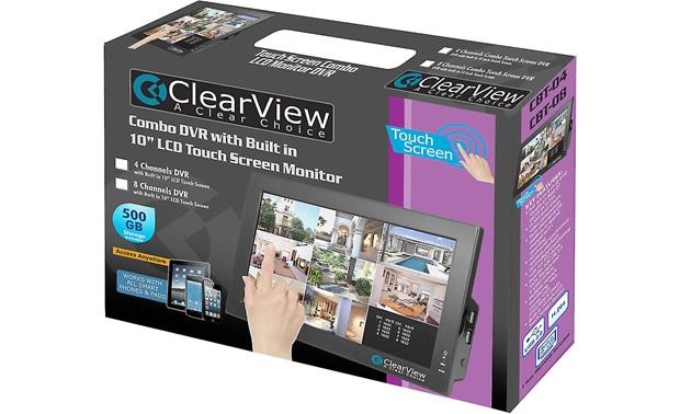 ClearView CBT-04 LCD Touchscreen DVR Combo In packaging