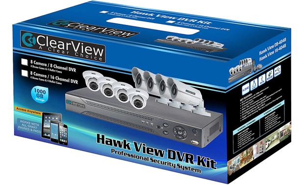 ClearView Hawk View 8-Channel Kit In packaging