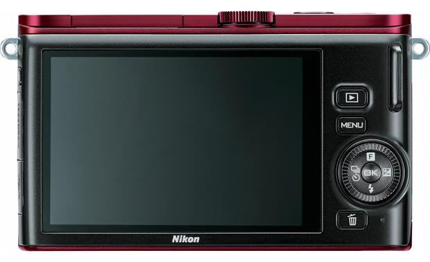 Nikon 1 J3 with Wide-range 10X Zoom Lens Back