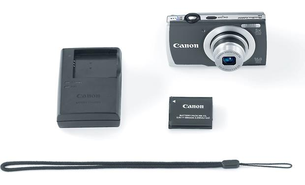 Canon PowerShot A2600 With included accessories