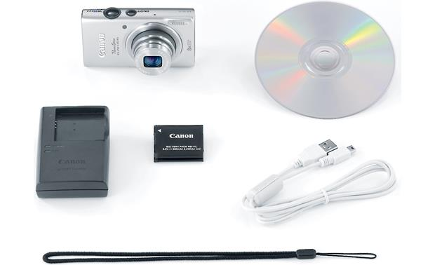 Canon PowerShot ELPH 130 IS With included accessories