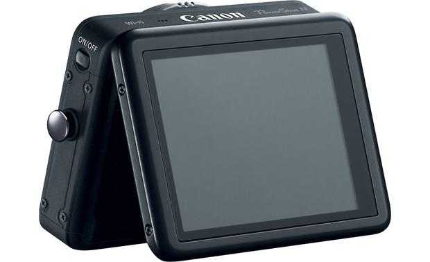 Canon PowerShot N Tilting LCD touchscreen display