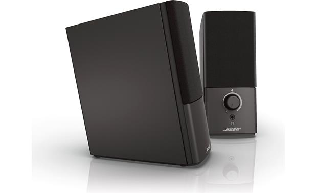 Bose® Companion® 2 Series III multimedia speaker system Side and front view