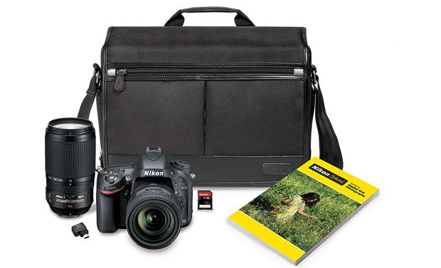 Nikon D600 Two Lens Camera Bundle Front