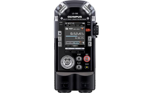 Olympus LS-100 Front view