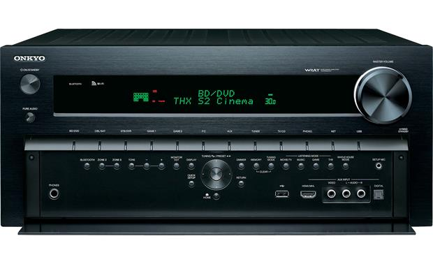Onkyo TX-NR929 Front with panel door open