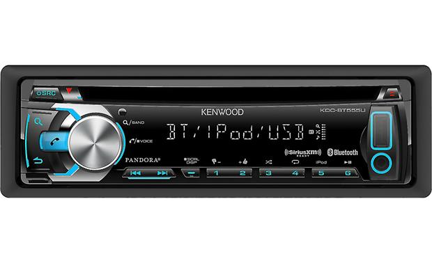 Kenwood KDC-BT555U Front