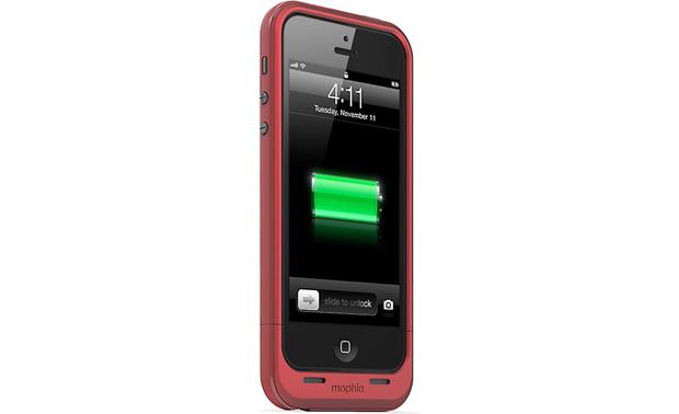 mophie juice pack plus® Red (iPhone 5 not included)