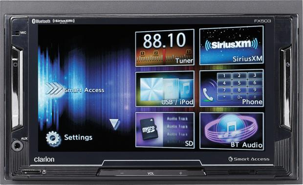 Clarion NX503E Multimedia Station Drivers for Windows 7