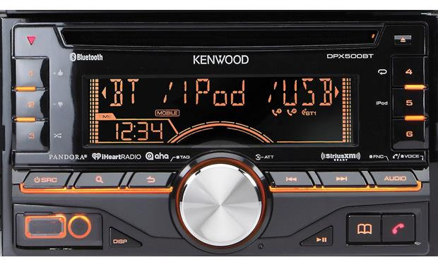 Kenwood DPX500BT Front display