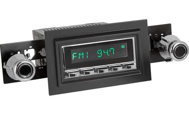 Retrosound 221-55-75 Faceplate and Knob Kit Kit shown with chrome Model Two radio (not included)