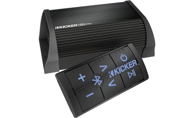 Kicker 40PXIBT50.2 Wired remote and compact amplifier