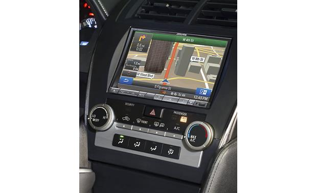 Alpine KTX-CMY8-K Restyle Dash Kit Restyle adapter with Alpine INE-Z928HD radio installed