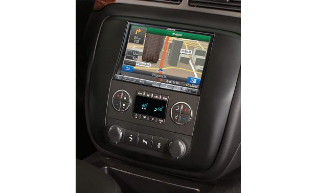 Alpine KTX-GM8-O Restyle Dash and Wiring Kit Perfect Fit kit with Alpine INE-Z928HD receiver installed