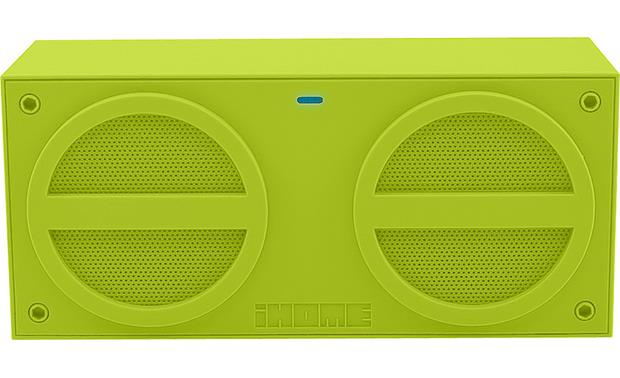 iHome iBT24 Green - front view