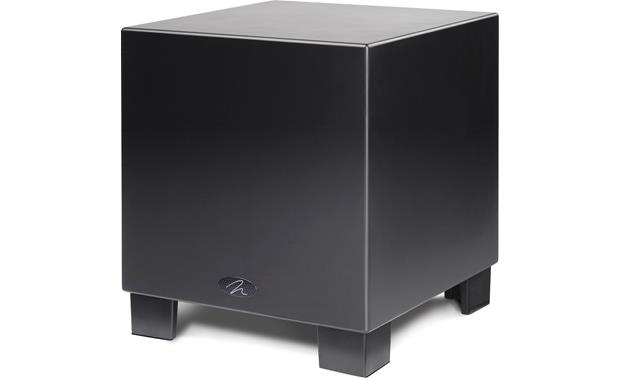 MartinLogan Dynamo™ 1500X Satin Black (Shown in down-firing configuration)