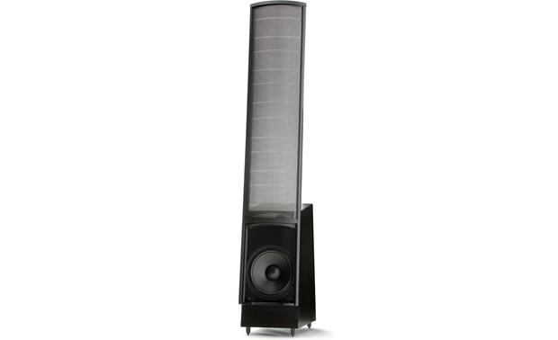 MartinLogan ElectroMotion® ESL Pictured with grille removed (Satin Black)